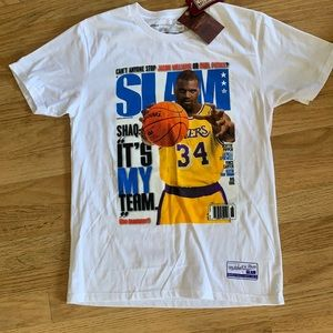 Mitchell & Ness Slam Shaquille Tee